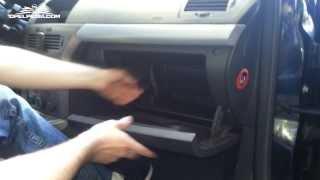 getlinkyoutube.com-Opel Astra H Tutorial: Pollen Filter Replacement