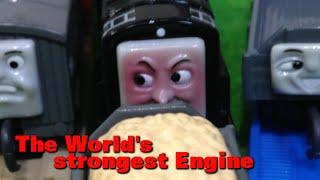 """getlinkyoutube.com-トーマス プラレール ガチャガチャ せかいさいきょうのきかんしゃ Tomy Plarail Thomas """"The World's strongest Engine"""""""