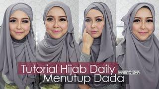 getlinkyoutube.com-Tutorial Hijab Sehari-hari Hijabstyle Menutup Dada by Inivindy