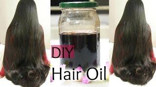 getlinkyoutube.com-DIY:Hair Growth Oil for Long Shiny Hair | Reduce Hair Fall and Grey hair | Naturally