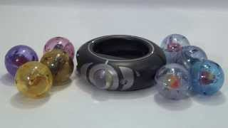 getlinkyoutube.com-Pokemon XY Mega Ring & Mega Stone Set by Takara Tomy Unboxing & Review
