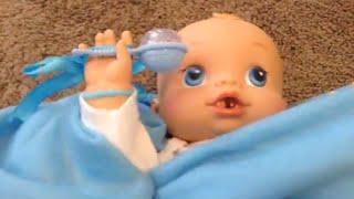 getlinkyoutube.com-Playing with Sherlock! -- Baby Alive Wets n Wiggles Boy