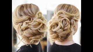 getlinkyoutube.com-Easy Wedding Updo with Curls  Prom Hairstyles Hair Tutorial