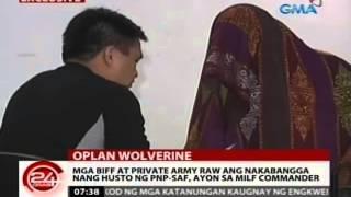 getlinkyoutube.com-24Oras: Pinaglibingan kay Marwan, gwardyado ng mga armadong lalaki