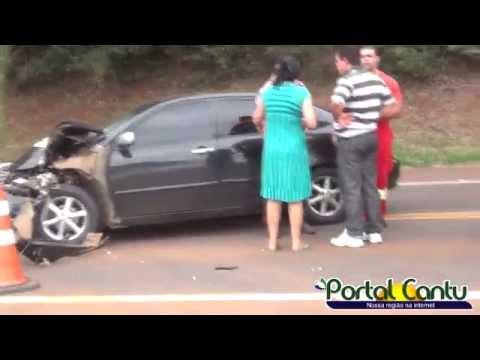 BR 277 Acidente envolvendo Caminhão e Corola deixa uma criança ferida. !!
