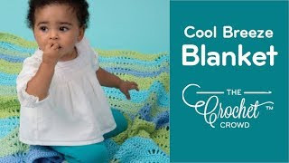 getlinkyoutube.com-How To Crochet a Baby Blanket: Cool Breeze