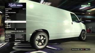 getlinkyoutube.com-GTA Online PS4 Heist Update Rumpo Customization