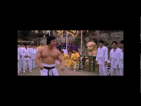 Bolo Yeung vs. Guards and John Saxon (Mr. Roper in Enter the