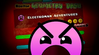 getlinkyoutube.com-Algo..Fácil!!! Geometry Dash [2.0] Electroman Adventures AllCoins