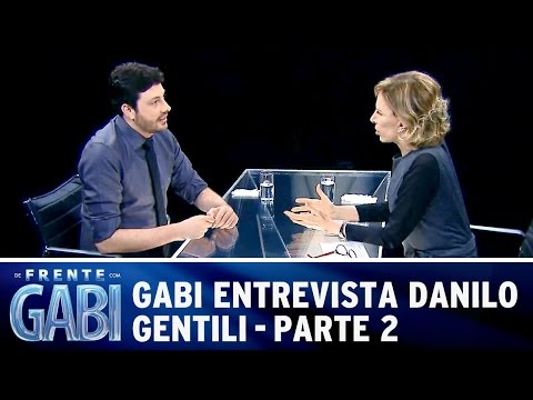 De Frente com Gabi (14/09/14) - Gabi recebe Danilo Gentili - Parte 2