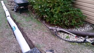 getlinkyoutube.com-NDS EZ flow French Drain Installation