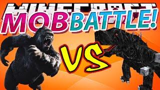 getlinkyoutube.com-Minecraft MOB BATTLES: Godzilla VS Mobzilla !