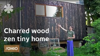 getlinkyoutube.com-Japanese-inspired wood-clad (legal) tiny home in Ohio small town