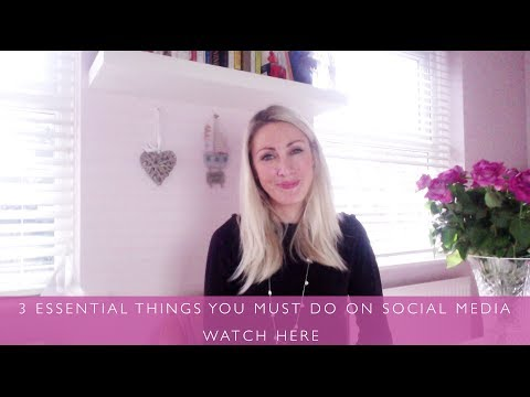 3 essential things you must do on social media