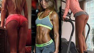 getlinkyoutube.com-Rida Kashipova Gym Workout Routine - Russia Female Fitness Model