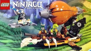 getlinkyoutube.com-레고 닌자고 해적 비행선 70603 스카이해적 해적선 조립 리뷰 Lego NINJAGO Raid Zeppelin 2016 신제품