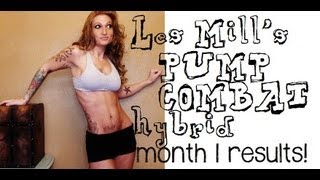 Les Mills PUMP/COMBAT Hybrid 1 Month Results