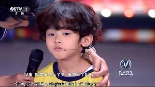 """[Amazing China 2015] """"Tiểu nam thần"""" 4 tuổi chơi Ukuleke cực đáng yêu"""