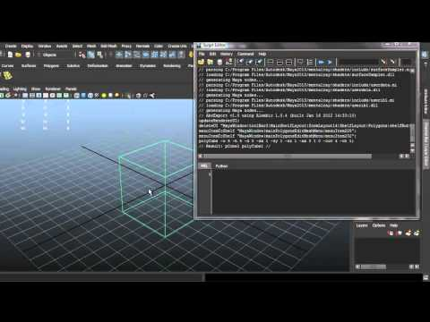 Autodesk Maya 2013 Beginner Tutorial - Creating Shelf Shortcuts