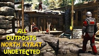 getlinkyoutube.com-Far Cry 4 - ALL Outposts undetected stealth killer liberations North Kyrat ( GTX 980 OC + 4790k OC )