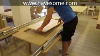 getlinkyoutube.com-Mega Extendable Dining Table