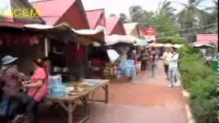 getlinkyoutube.com-Cambodia - Kep - Hotel Region Crabmarket Nightlife