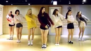 getlinkyoutube.com-OH MY GIRL - A-ing / Listen to my Word - mirrored dance practice video - 오마이걸 내 얘기를 들어봐
