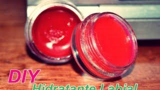 DIY  brillo labial Hidratante y refrescante con pop de COLOR