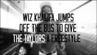 Wiz Khalifa - Tour Bus Freestyle