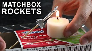 getlinkyoutube.com-How To Make a Matchbox Rocket Launching Kit