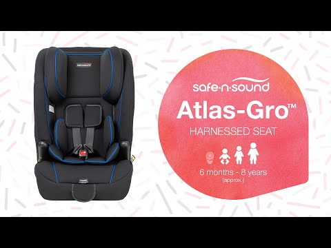 Safe-n-Sound Atlas-Gro Harnessed Car Seat 6 Mths to 8 Years