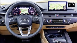 getlinkyoutube.com-2016 Audi A4 Sedan Quattro (B9 generation) Interior Design HD