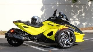 getlinkyoutube.com-REVIEW: 2014 Can-Am Spyder RS-S