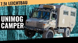 getlinkyoutube.com-Unimog U1350L  ■  Expeditionsfahrzeug  ■ Atlas4x4  ■ Test  ■