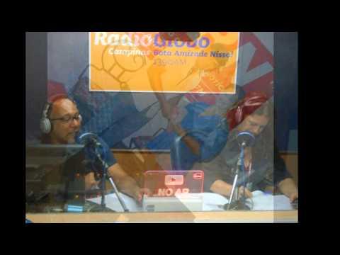 João Pinheiro Sorteio do Celular na Rádio Globo de Campinas AM 1390