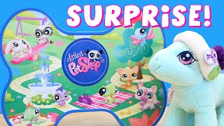 getlinkyoutube.com-LIttlest Pet Shop SURPRISE Tin with Minty Blind Bags and Boxes