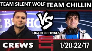 Genesis 4 SSBM - Team Silent Wolf Vs. Team Chillindude - Smash Melee Draft Crews