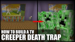 getlinkyoutube.com-How to Make a Creeper Death Trap in Minecraft