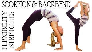 getlinkyoutube.com-Flexibility Stretch Exercises Workout for Scorpion & Back Bends For Ballet, Dance & Cheerleading