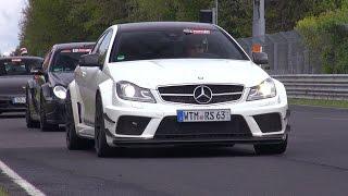 getlinkyoutube.com-Mercedes Benz C63 AMG Black Series Coupe - Lovely Sounds!