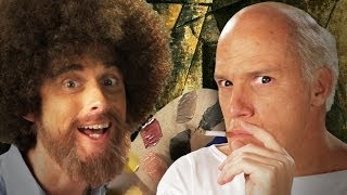 getlinkyoutube.com-Bob Ross vs Pablo Picasso - Epic Rap Battles of History Season 3.