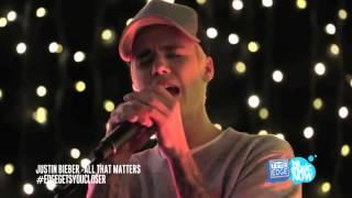getlinkyoutube.com-Justin Bieber - All That Matters (live acoustic) HD