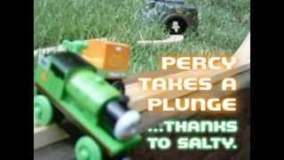 getlinkyoutube.com-Thomas the Train - Percy Takes a Plunge ...thanks to Salty
