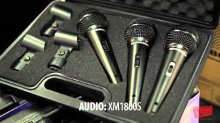 getlinkyoutube.com-Behringer XM8500 & XM1800S Microphones