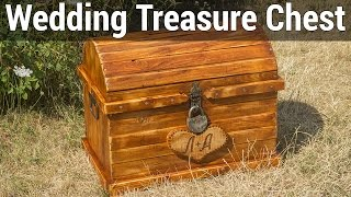 getlinkyoutube.com-Wedding Treasure Chest | Свадебный сундук