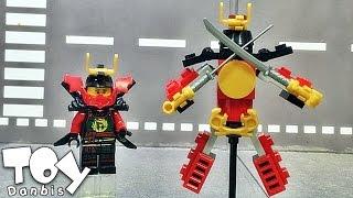 getlinkyoutube.com-lele 니야 사무라이 로봇 닌자고 디멘션즈 레고 짝퉁 Lego knockoff ninjago dimensions nya  samurai robot