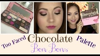 Too Faced Chocolate Bon Bons Palette! Review, swatches & tutorial!