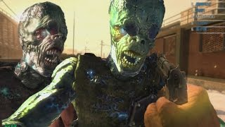 "getlinkyoutube.com-Call of Duty: Online ""CYBORG ZOMBIES"" - NEW ""DEUS EX"" MODE GAMEPLAY #1 (COD Online Zombies)"
