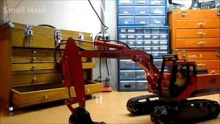 getlinkyoutube.com-Keith's Doosan (Stahl) excavator with enhanced hydraulics.