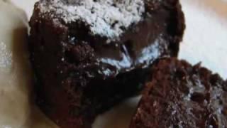 getlinkyoutube.com-Chocolate Lava Cake 2 - Molten Chocolate Love